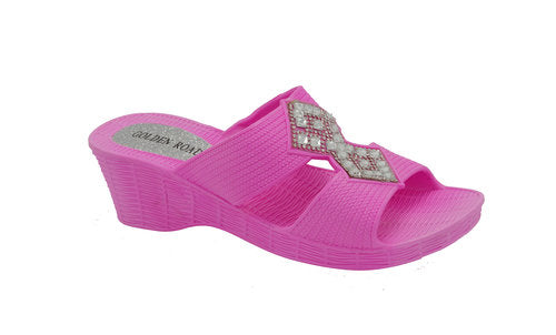 Wholesale Women's Shoes Flat Slippers Sandals Mikayla NG16
