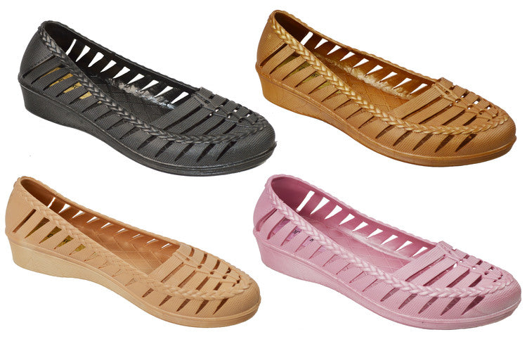 Wholesale Women's Shoes Flat Slippers Assorted Sandals Dahlia NG17