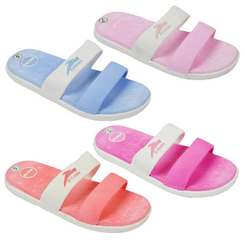 Wholesale Women's Shoes Flat Slippers Assorted Sandals Scarlet NG10