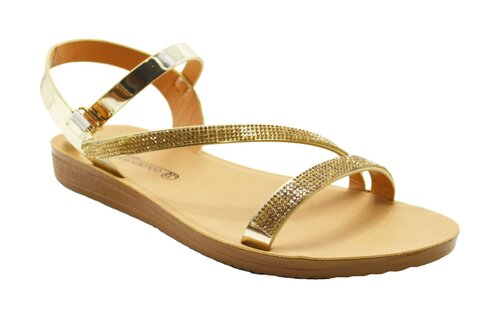 Wholesale Women's Shoes Flat Sandals Jessie NG11