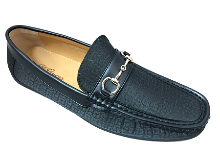 Wholesale Men's Shoes Bit Loafer Slip On Croc Buckle Design NCPK5