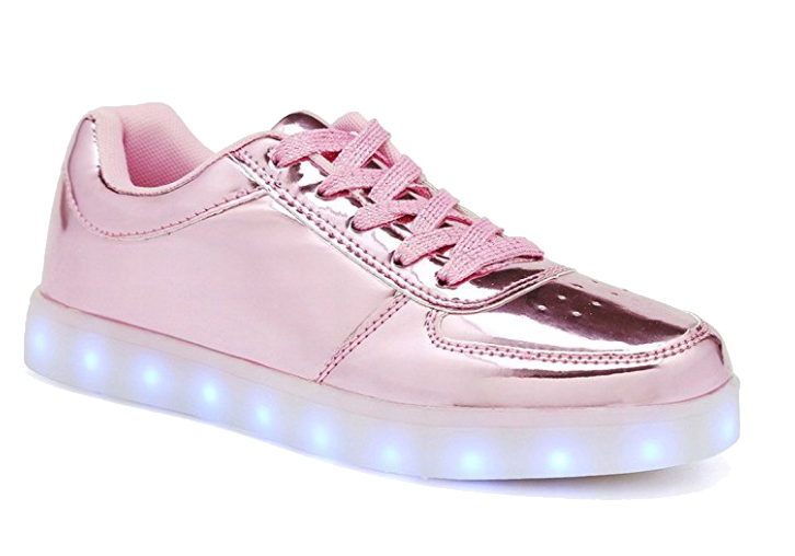 Wholesale Women's Shoes Trainers Lace Up LED Lights NG12