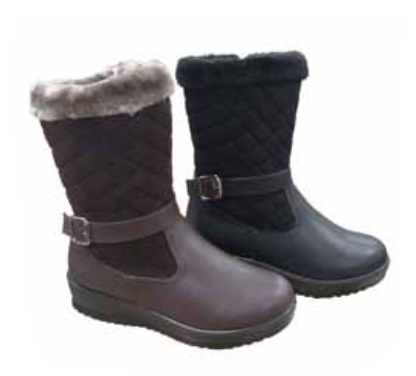 Wholesale Women's Shoes Slip On Winter Boots Emmie NPE25