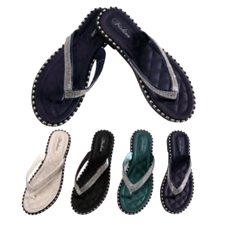 Wholesale Women's Shoes Assorted Slippers Sandals Amy NH29