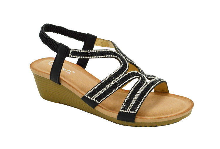 Wholesale Women's Shoes Flat Sandals Karla NG30