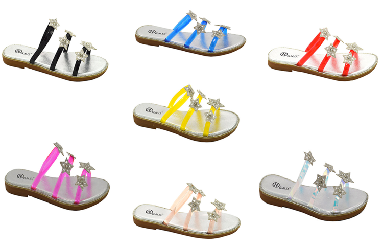 Wholesale Women's Shoes Flat Sandals Harlee NG37