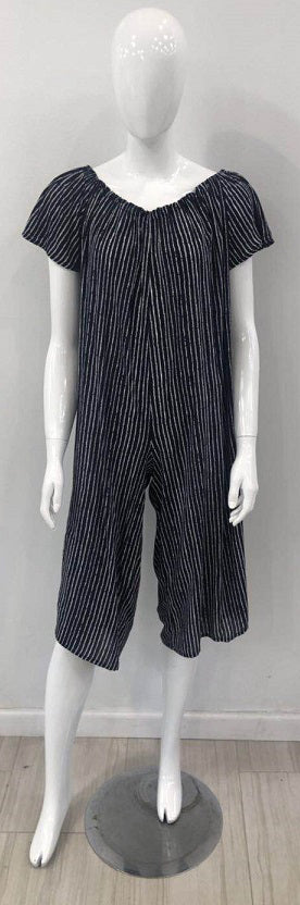 Wholesale Clothing Dresses Rayon Stripe Jumpsuit 36/Case NWRR41