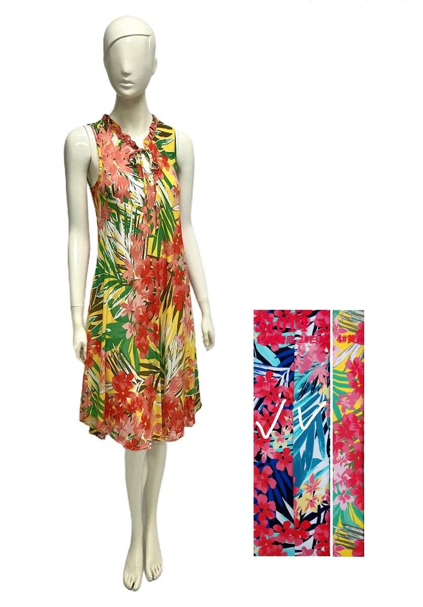Wholesale Women's Clothing Dresses Rayon Mabel NW34