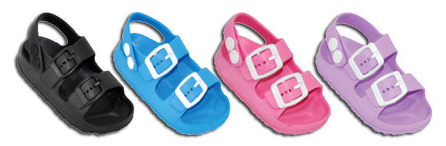 Wholesale Kid's Footwear Assorted Slippers Sandals Toddlers Justice NSU42