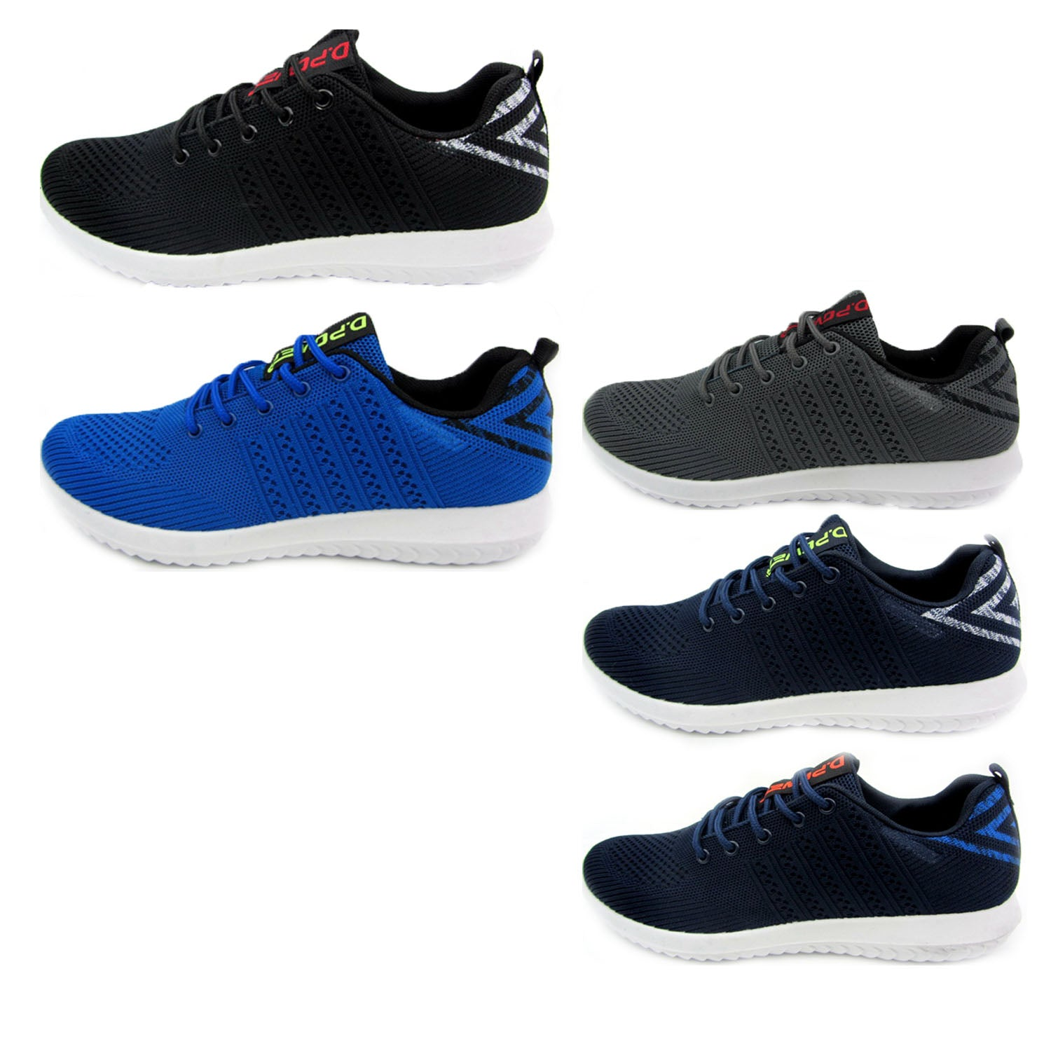 Wholesale Men's Shoes Lace Up Sneakers Allan NCP46