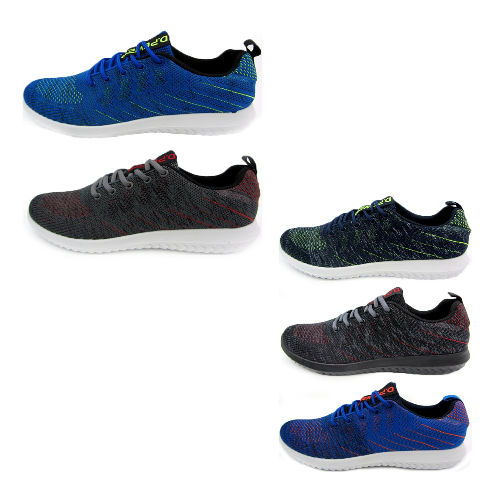 Wholesale Men's Shoes Lace Up Sneakers Brice NCP47