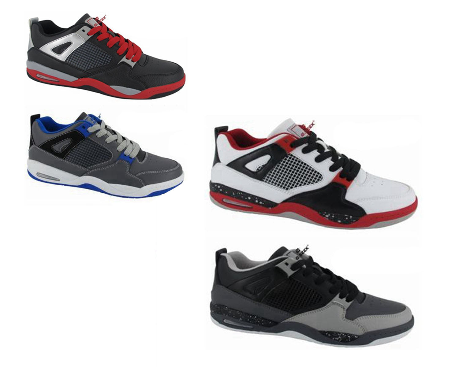Wholesale Men's Shoes Lace Up Runner Sneakers Conrad NCP59
