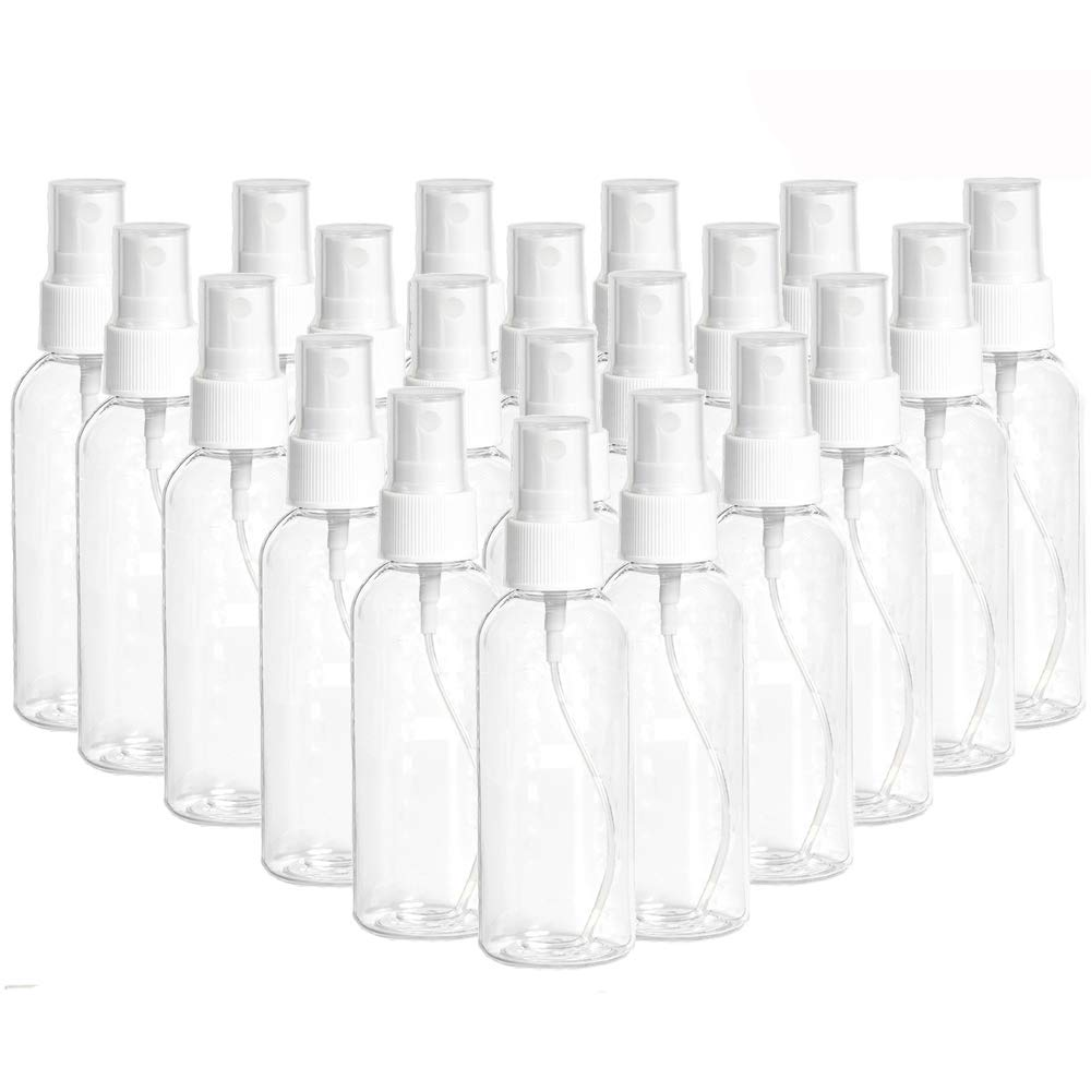 Wholesale Spray Bottles (US Stock) Clear Fine Mist Spray Bottle Refillable Liquid Container N6CB