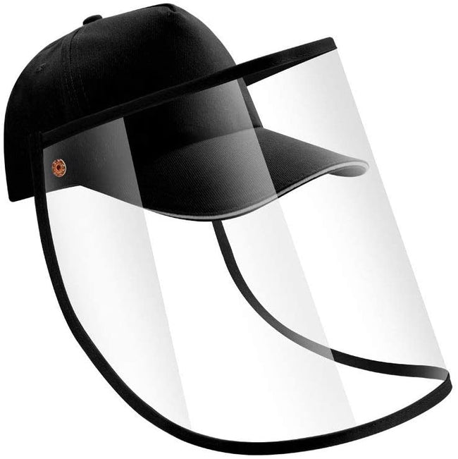 Wholesale Face Shield Anti Fog Protective Hat Detachable Face Shield Anti Dust Cap Anti-Spitting Safety Outdoor Anti-Pollution Sun Hat N6MC