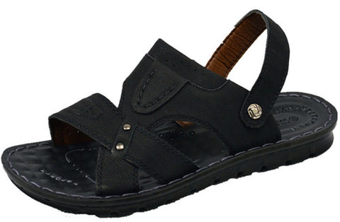 Wholesale Men's Shoes Leather Sandals Vick NCPD2