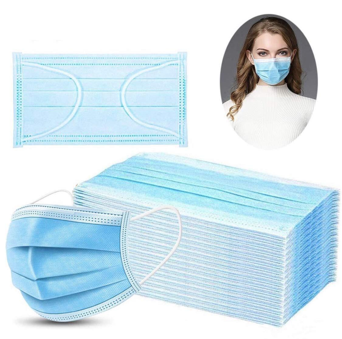 Wholesale NY Deal Face Masks for Corona Virus COVID-19 Disposable 3-Layer Anti Dust Anti Virus Breathable Comfortable Medical Sanitary Surgical Mask N6SK