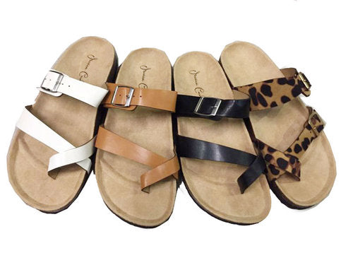 Wholesale Women's Shoes Flat Slippers Sandals Kyla Mix NG62