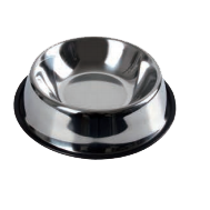 Wholesale Accessories Assorted 22Cm Stainless Steel Pet Basin NH73