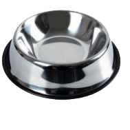 Wholesale Accessories Assorted 26Cm Stainless Steel Pet Basin NH74