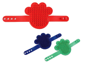 Wholesale Accessories Assorted Pet Bath Massage Comb NH76