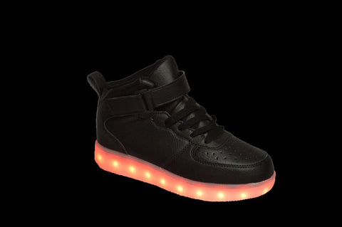 Wholesale Kid's Footwear Sneakers Lace Up LED Lights NG2K