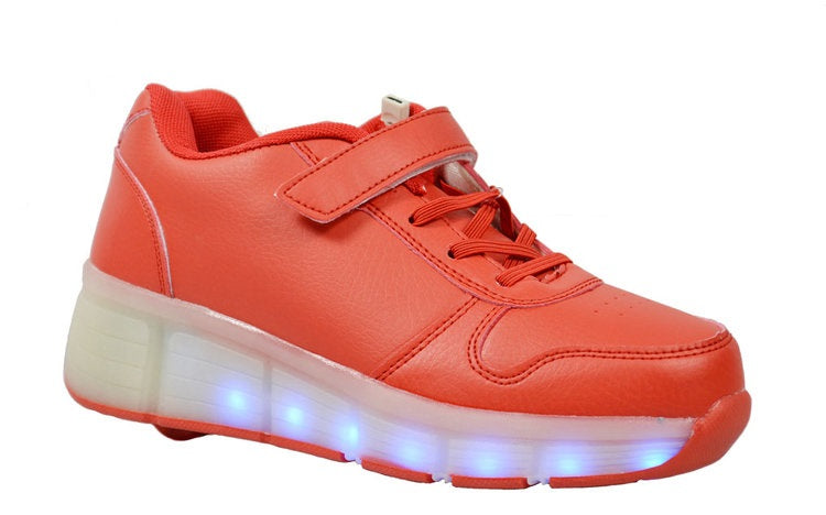 Wholesale Kid's Footwear Sneakers Lace Up LED Lights NG7C