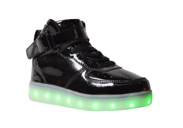 Wholesale Women's Shoes Sneakers Lace Up Strap LED Lights NG79