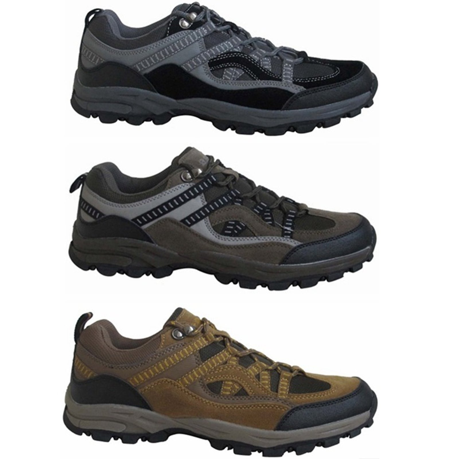Wholesale Men's Shoes Trainers Lace Up Mountain Sneaker NCP80