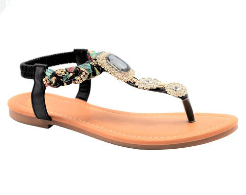 Wholesale Women's Shoes Flat Sandals Cassandra NG83