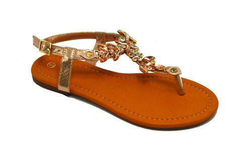 Wholesale Women's Shoes Flat Sandals Romina NG89