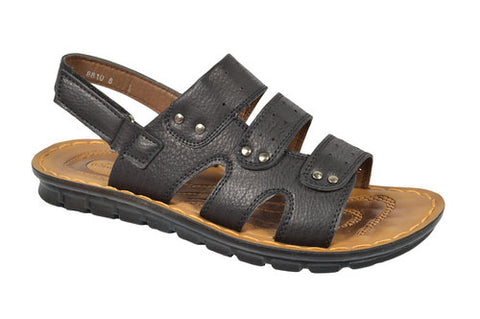 Wholesale Men's Shoes Leather Sandals Victor NCPA6