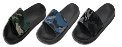 Wholesale Kid's Footwear Assorted Boys Slippers Sebastian NSU97