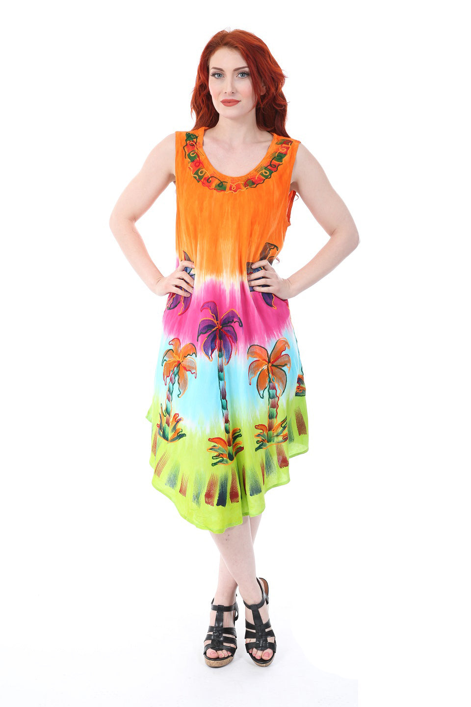 Wholesale Women's Clothing Dresses Rayon Dayana NWA3