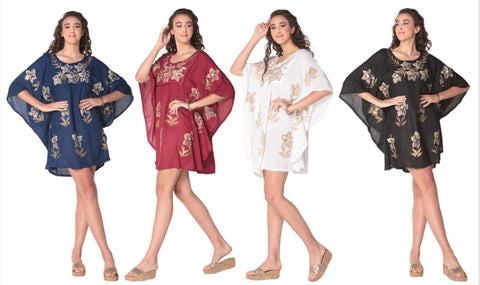 Wholesale Women's Clothing Short Caftan Linda NWA9