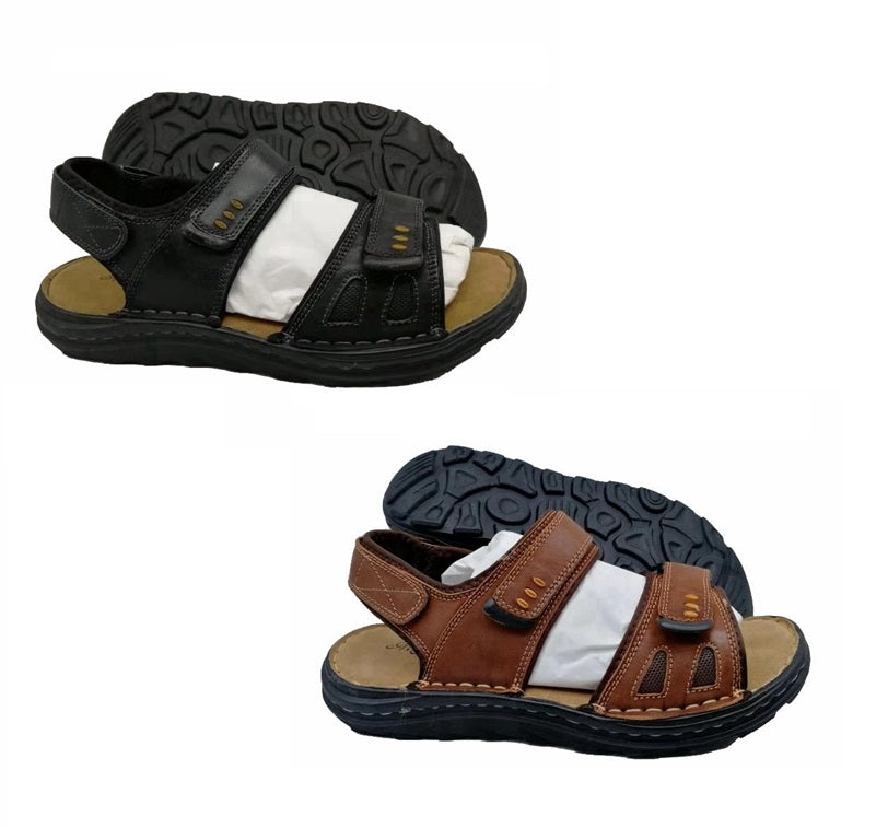 Wholesale Men's Shoes Leather Sandals Mark NCPD2