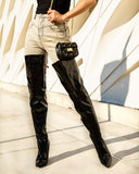 Wholesale Women's Boots Heels Thigh High Pinkie NMDN