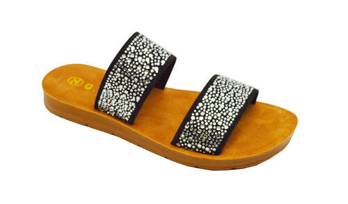Wholesale Women's Shoes Flat Slippers Sandals Daniella NGd1