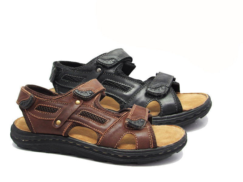 Shoes Leather Sandals Virge NCPD5