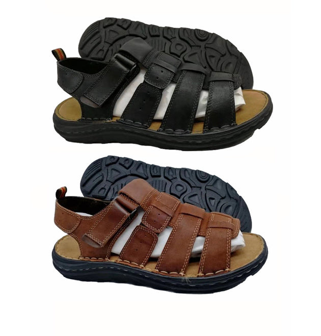 Wholesale Men's Shoes Leather Sandals Warren NCPD6