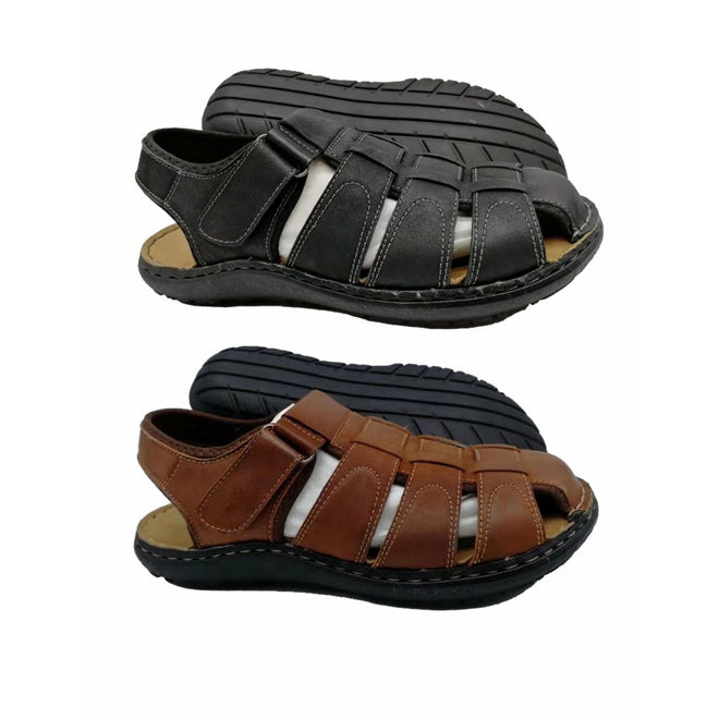 Wholesale Men's Shoes Leather Sandals Vinny NCPD7