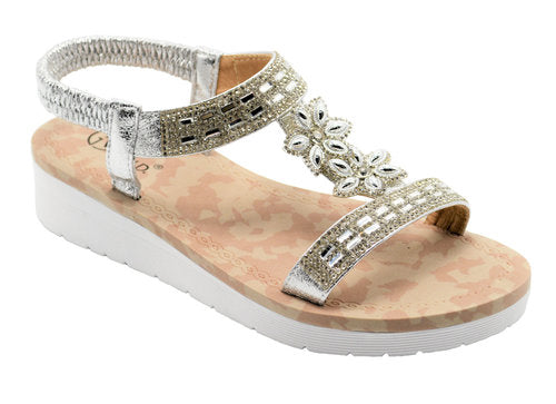 Wholesale Women's Shoes Flat Sandals Ivory NGj3