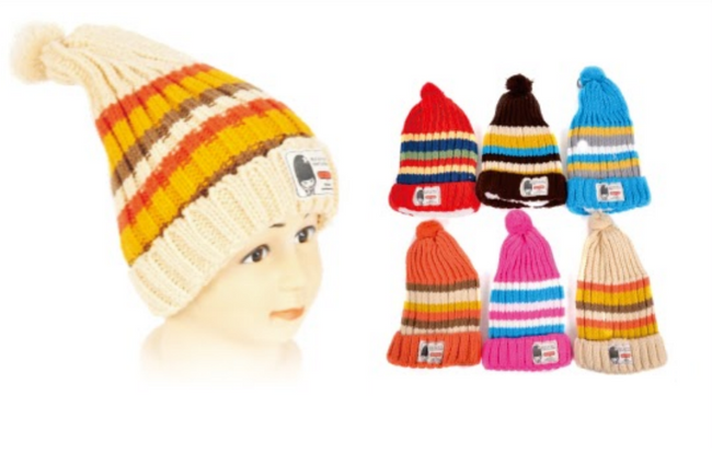 Wholesale Clothing Accessories Assorted Fall Winter Hats KIDS NTT08