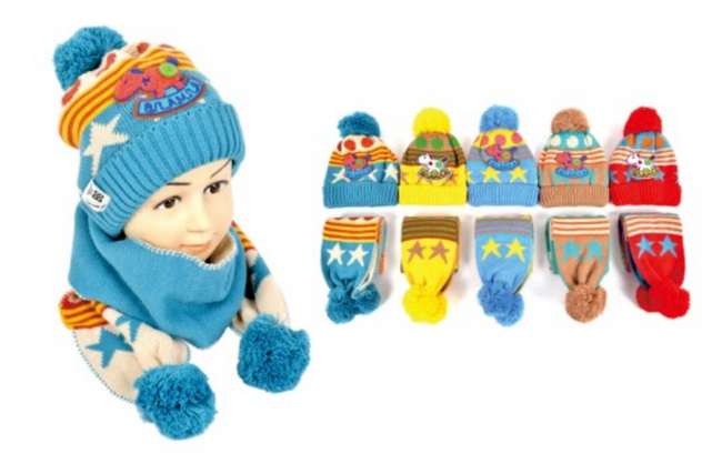 Wholesale Clothing Accessories Assorted Fall Winter Hats KIDS NTT10