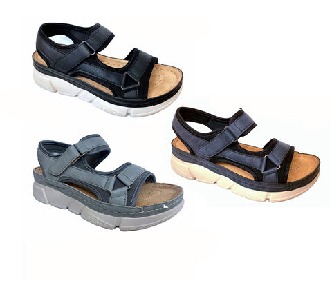 Wholesale Women's Shoes Flat Back Strap Thong Guadalupe Sandals NPERf