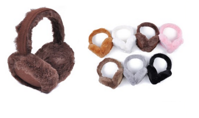 Wholesale Clothing Accessories Assorted Fall Winter Ear Muffs NTTE-03