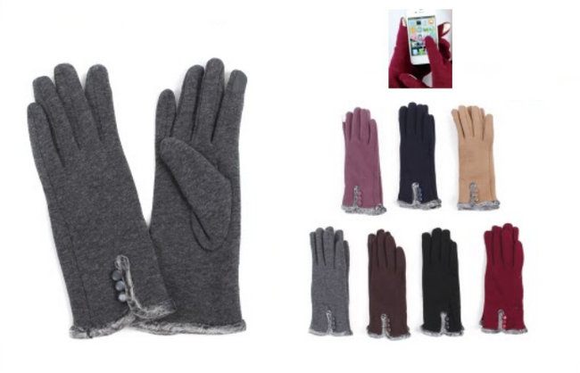 Wholesale Clothing Accessories Assorted Fall Winter Gloves NTT27