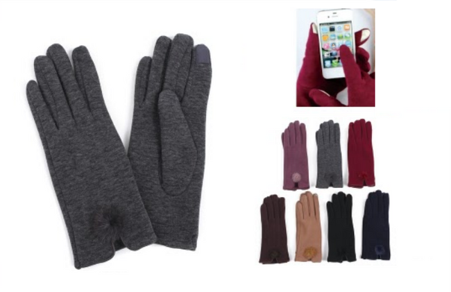 Wholesale Clothing Accessories Assorted Fall Winter Gloves NTT42