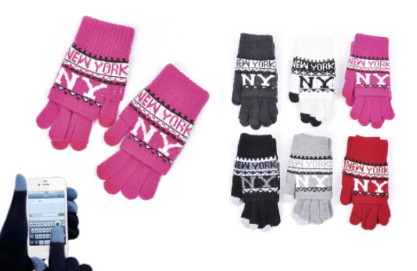Wholesale Clothing Accessories Assorted Fall Winter Gloves NTT20