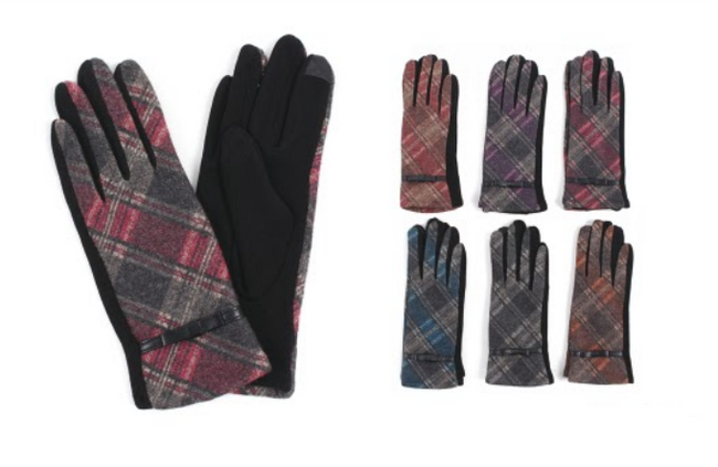 Wholesale Clothing Accessories Assorted Fall Winter Gloves NTT33