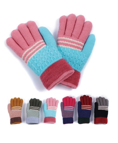 Wholesale Clothing Accessories Assorted Fall Winter Gloves NTT09